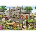 Puzzle  Gibsons-G2217 XXL Teile - Howard Robinson - Farmyard Friends