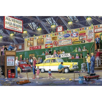 Puzzle Gibsons-G2713 XXL Teile - Going Once, Going Twice