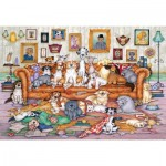 Puzzle  Gibsons-G3118 Barker-Scratchits
