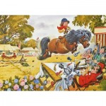 Puzzle  Gibsons-G3408 Thelwell - Up for the Cup
