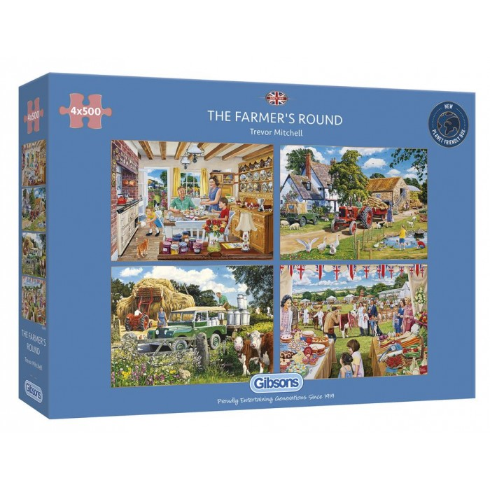 4 Puzzles - The Farmer's Round