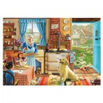 Puzzle  Gibsons-G6166 Steve Crisp: Home Sweet Home