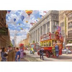 Puzzle  Gibsons-G6203 Bryan Evans - Oxford Street - Then & Now