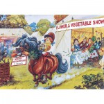 Puzzle  Gibsons-G7077 Norman Thelwell: Flower Show