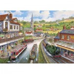Puzzle   XXL Teile - Ye Old Mill Tavern