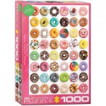 Puzzle  Eurographics-6000-0585 Donuts