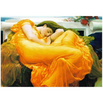Puzzle Eurographics-6000-3214 Frederick Lord Leighton: Flaming June