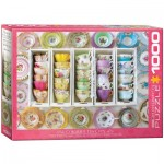Puzzle  Eurographics-6000-5342 Tea Cups Boxes