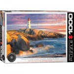 Puzzle  Eurographics-6000-5437 Peggy's Cove Lighthouse