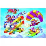 Puzzle  Eurographics-6100-0523 Girl Power - Pilotinen