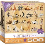 Puzzle  Eurographics-6500-5354 XXL Teile - Yoga is A Family Activity