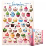 Puzzle  Eurographics-8000-0409 Cupcakes