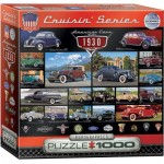 Puzzle  Eurographics-8000-0674 American Cars of the 1930s