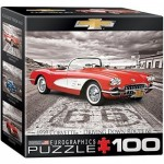 Eurographics-8104-0665 Mini Puzzle - 1959 Corvette