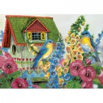 Puzzle  Eurographics-8300-0603 Country Cottage