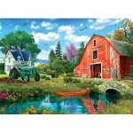 Puzzle   The Red Barn