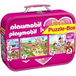 4 Puzzles - Playmobil