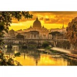 Puzzle   Golden Light over Rome