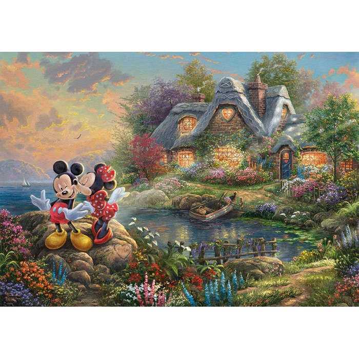 Thomas Kinkade, Disney-Sweethearts Mickey & Minnie