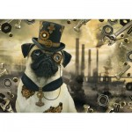 Puzzle   Steampunk Dog