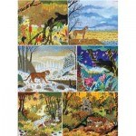 Puzzle-Michele-Wilson-A681-1800 6 Holzpuzzles - Alain Thomas