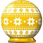 3D Puzzle-Ball - Winter Yellow