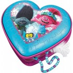3D Puzzle - Heart-Shaped Box - Trolls