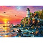Puzzle   Lighthouse at Sunset