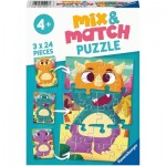 Mix and Match Puzzles - Dinosaurs
