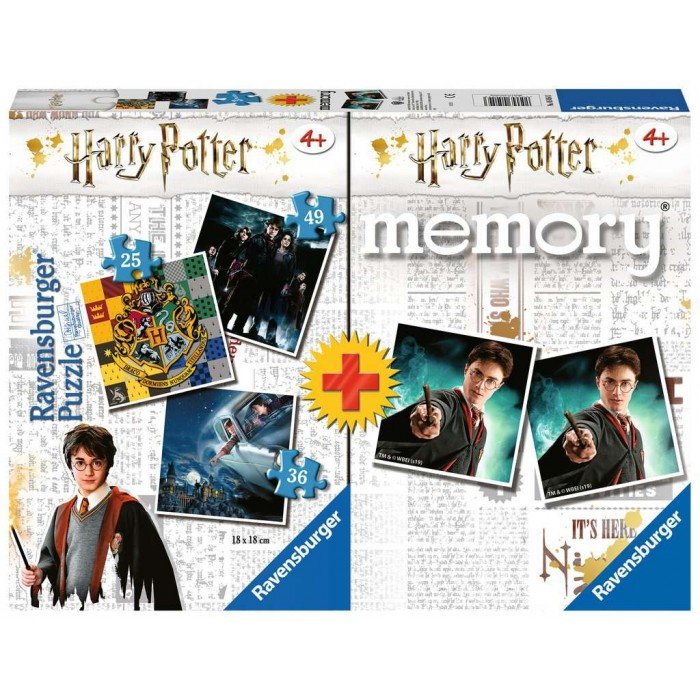 3 Puzzles + Memory - Harry Potter