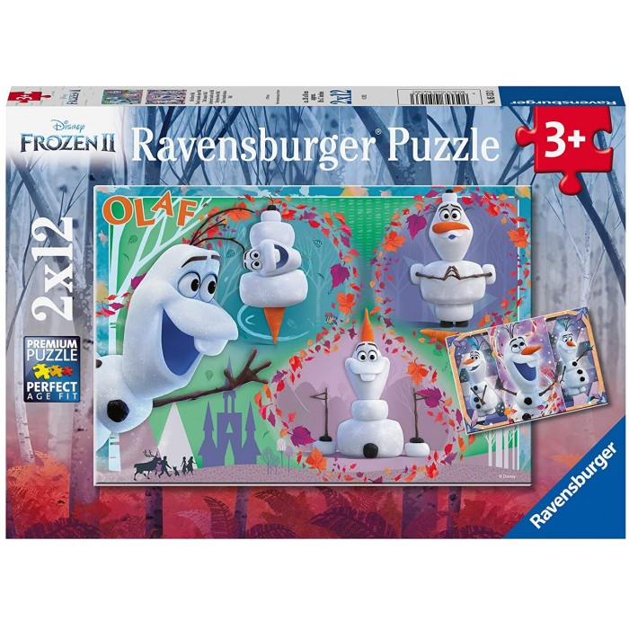 2 Puzzles - Olaf