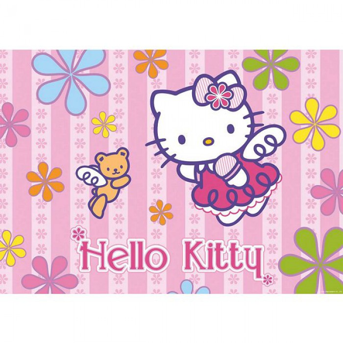 Hello Kitty und der Teddy