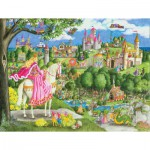 Puzzle  Ravensburger-05368 XXL Teile - Once Upon a Time