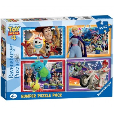 Ravensburger-06836 4 Puzzles - Toy Story
