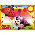 Ravensburger-07255 4 Puzzles - Minnie