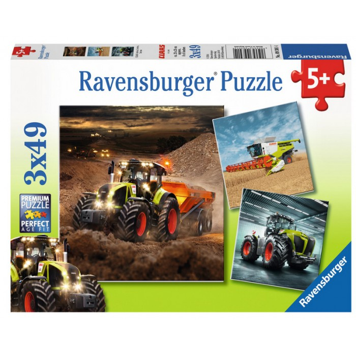 3 Puzzles - CLAAS: Axion, Lexion, Xerion