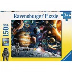 Puzzle  Ravensburger-10016 Im Weltall