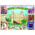 Puzzle  Ravensburger-10784 XXL Teile - The Tower of London
