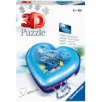 Ravensburger-11172 3D Puzzle - Herzschatulle - Underwater World