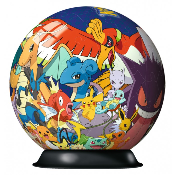 3D Puzzle-Ball - Pokemon