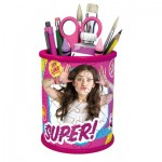 Ravensburger-12095 3D Puzzle - Girly Girls Edition - Utensilo Soy Luna