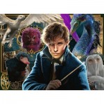 Puzzle  Ravensburger-12611 XXL Teile - Wizarding World