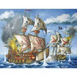 Puzzle  Ravensburger-12771 Pirates