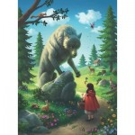 Puzzle  Ravensburger-12988 XXL Teile - Little Red Riding Hood