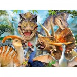 Puzzle  Ravensburger-13246 Dino Selfies