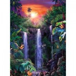 Puzzle  Ravensburger-14840 Magical Waterfall