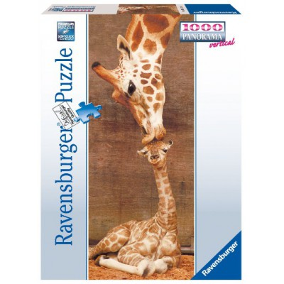 Puzzle Ravensburger-15115 The First Kiss