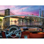 Puzzle  Ravensburger-15267 Brücke in Brooklyn