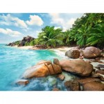 Puzzle  Ravensburger-16334 Traumhafter Strand