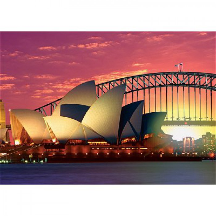 Oper mit Harbour Bridge, Sydney